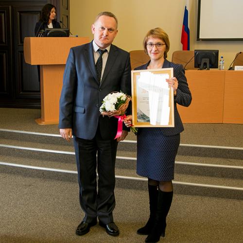 К.Виноградов и Ю.Колдина